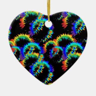 радужныекольцаббу keramik Herz-Ornament