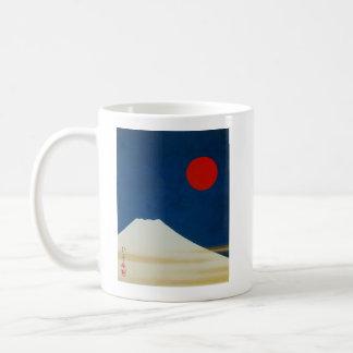 酒井抱一『 富士山図 』、Sakai Hōitsu Kaffeetasse