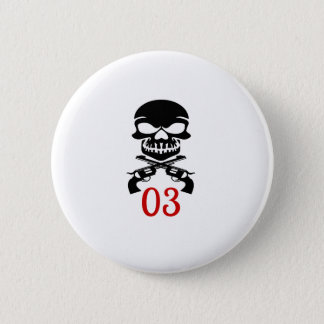 03 Geburtstags-Entwürfe Runder Button 5,1 Cm