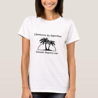 091, Chamorro durch Einspritzung, Inselbewohner T-Shirt