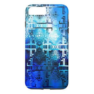 1001 Licht-Muster (blau) iPhone 8 Plus/7 Plus Hülle