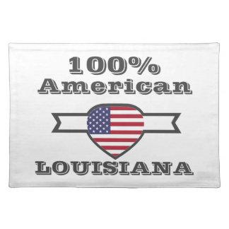 100% Amerikaner, Louisiana Tischset