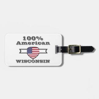 100% Amerikaner, Wisconsin Kofferanhänger