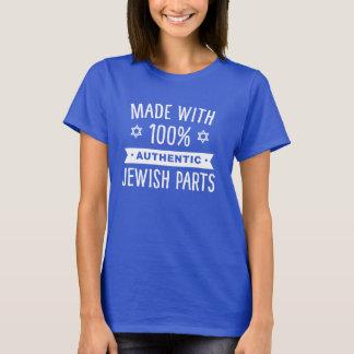 100% authentische jüdische Teile T-Shirt