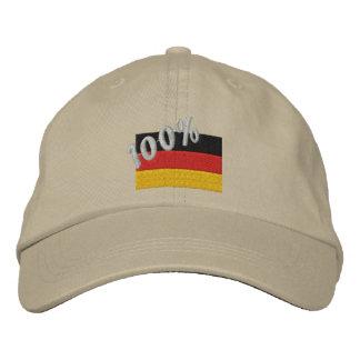 100 Deutscher gestickte Kappe