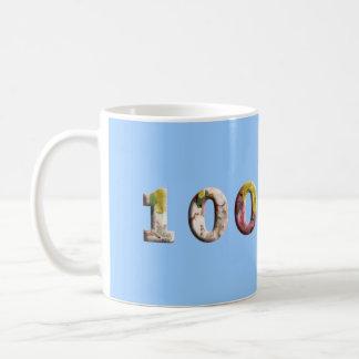 100 Jahre 100. Kaffeetasse