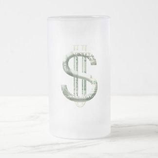 $100 MATTGLAS BIERGLAS