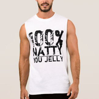 100% Natty Sie Gelee Ärmelloses Shirt