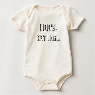 100% natürlich baby strampler