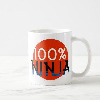 100% NINJA KAFFEETASSE