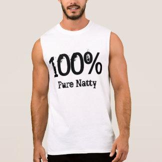 100% reines Natty Ärmelloses Shirt