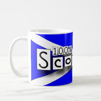 100% Scottish Tasse