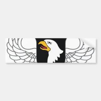 """101st Im Flugzeug Abteilung """"schreiender Eagles """" Autoaufkleber"""