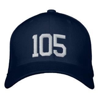 105 gestickte Kappe Baseballkappe