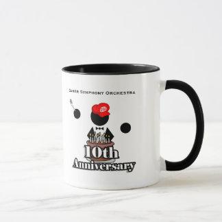 10. Jahrestags-Tasse Tasse