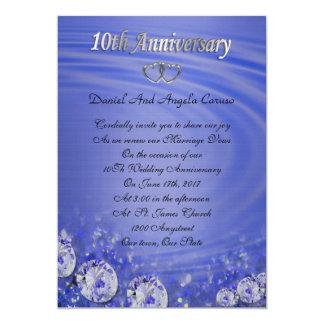 10. Jahrestagsversprechen-Erneuerung Einladung