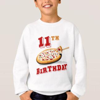 11. Geburtstags-Pizza-Party Sweatshirt