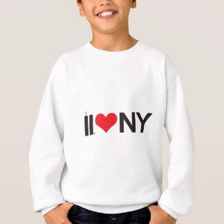 11. September Doppelturm-Liebe NY Sweatshirt
