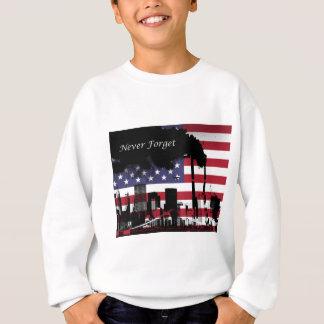 11. September vergessen Sie nie Sweatshirt