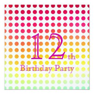12 Geburtstag Der Madchen Geschenke Zazzle At