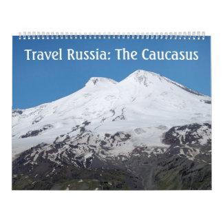 12-monatige Reise Russland: Der Kaukasus-Kalender Abreißkalender