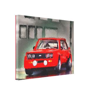 131 ABARTH - Digital Work Jean-Louis Glineur Gespannter Galerie Druck