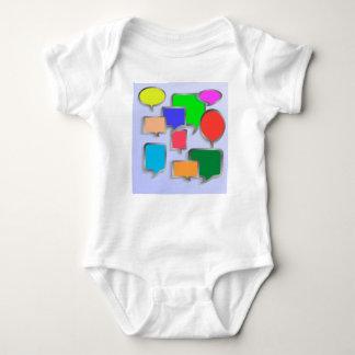147Speech Bubbles_rasterized Baby Strampler