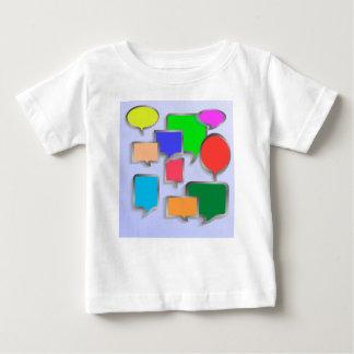 147Speech Bubbles_rasterized Baby T-shirt
