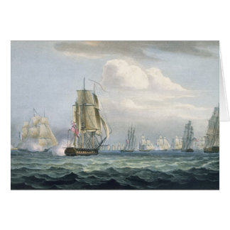 (1764-1840) Geschwader Sir-Sidney Smiths, das a Grußkarte