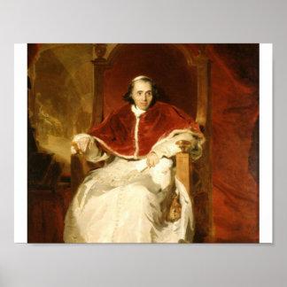 (1769-1830) Papst Pius Sir-Thomas Lawrence VII Poster