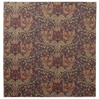1876 Vintages Geißblatt Williams Morris Serviette
