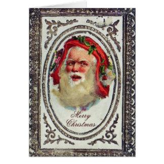 1878: Eine viktorianische Weihnachtsgrußkarte Karte