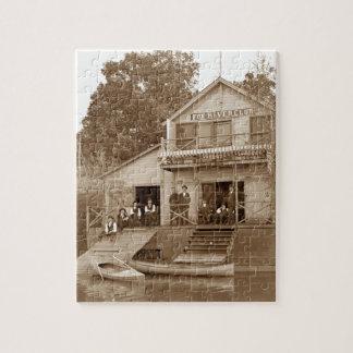 1880's Mann-Vereinfox-Fluss-Verein, der Elgin Puzzle