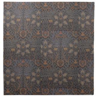 1888 Vintager William Morris Ispahan Stoffserviette
