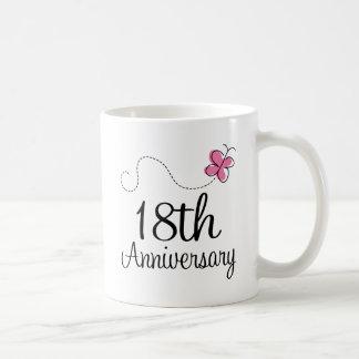 18. Jahrestag Tasse