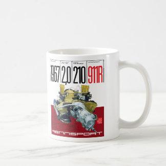 1967 911R 2,0 Liter 210 HP-Art 901/22 Motor-Tasse Kaffeetasse