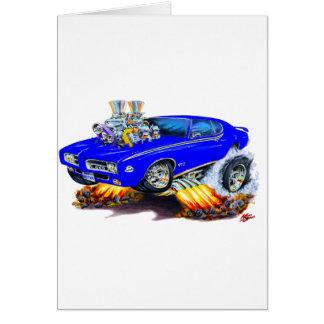 1969 GTO Richter-Blau-Auto Karte