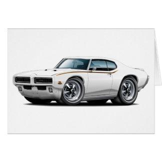 1969 GTO Richter-weißes verstecktes Karte