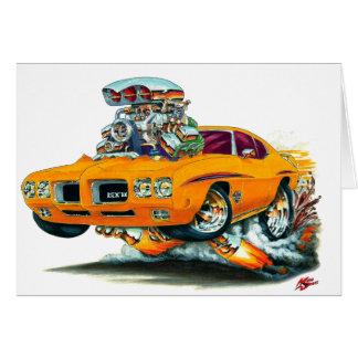 1970 GTO Richter-Orangen-Auto Karte