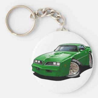 1977- 78 grünes Auto Transportes morgens Schlüsselanhänger