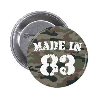 1983 machte in 83 runder button 5,1 cm