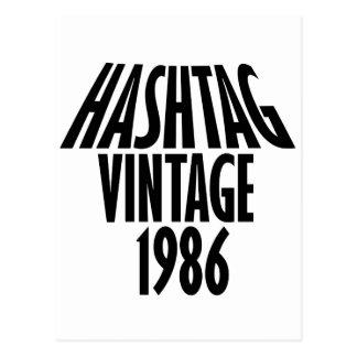 1986 POSTKARTE