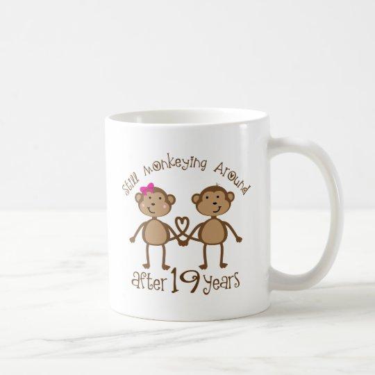 19 Hochzeitstag Geschenke Tasse Zazzleat