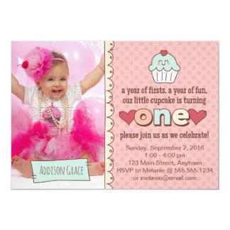 1. Geburtstags-Kuchen-Einladung 12,7 X 17,8 Cm Einladungskarte