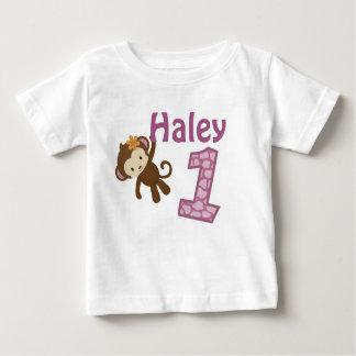1-Jährige alte Geburtstags-T - Shirt CJ-Orchidee