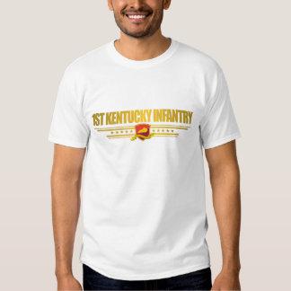 1. Kentucky-Infanterie-Kleid Shirt