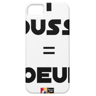 1 KÜCKEN = EIER - Wortspiele - Francois Ville iPhone 5 Cover