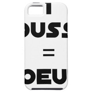 1 KÜCKEN = EIER - Wortspiele - Francois Ville iPhone 5 Etui