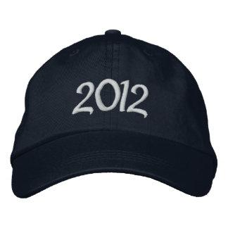 2012 gestickte Kappe
