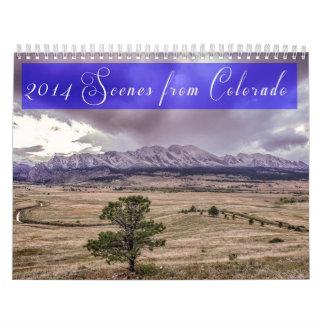 2014 Szenen von Colorado Abreißkalender